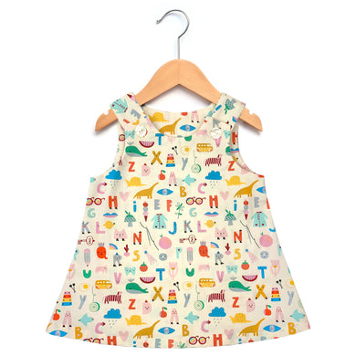 Animal Alphabet Dress
