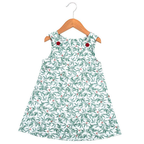Boughs of Holly Dress - Small Potatoes - 1