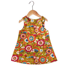 Flying Colours Green Dress - Small Potatoes - 1