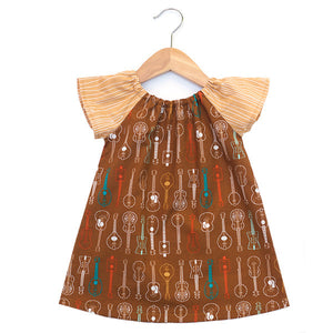 Folk Guitars Dress