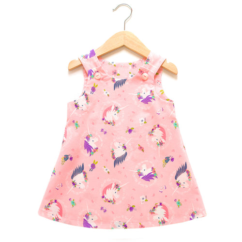 I Heart Unicorns Pink Dress