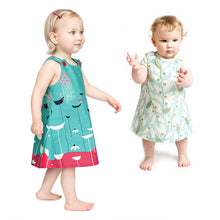 Blooming Lovely Sage Dress - Small Potatoes - 2
