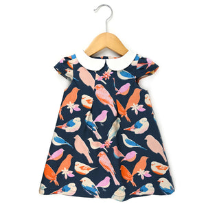 Social Birds Peter Pan Collar Dress - Ready to Ship