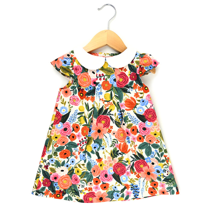 Wildwood Garden Peter Pan Collar Dress - Ready to Ship