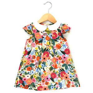 Wildwood Garden Peter Pan Collar Dress