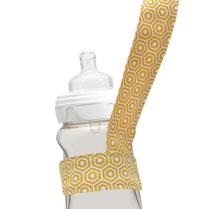 Gold Hexagon Drinky Leash - Small Potatoes - 1