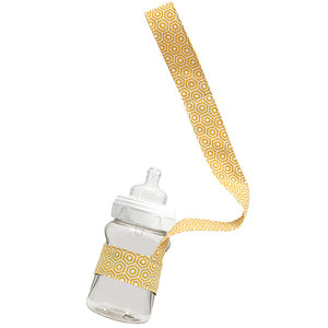 Gold Hexagon Drinky Leash - Small Potatoes - 2