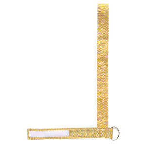 Gold Hexagon Drinky Leash - Small Potatoes - 3