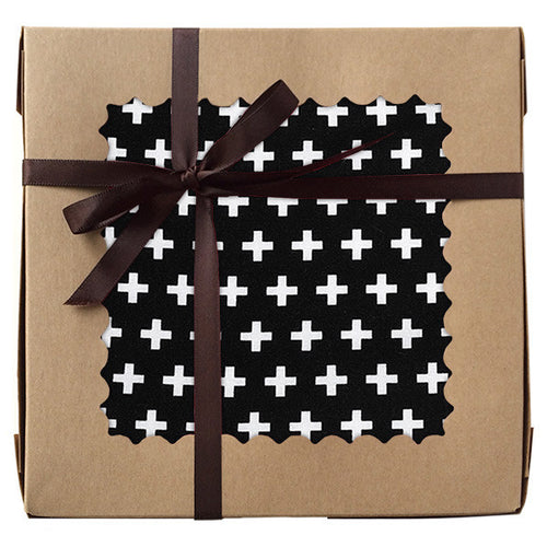Black Swiss Cross Gift Set - Small Potatoes - 1
