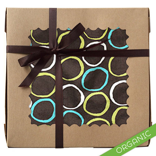 Mod Circles Blue Gift Set - ORGANIC - Small Potatoes - 1