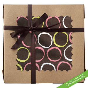 Mod Circles Pink Gift Set - ORGANIC - Small Potatoes - 1