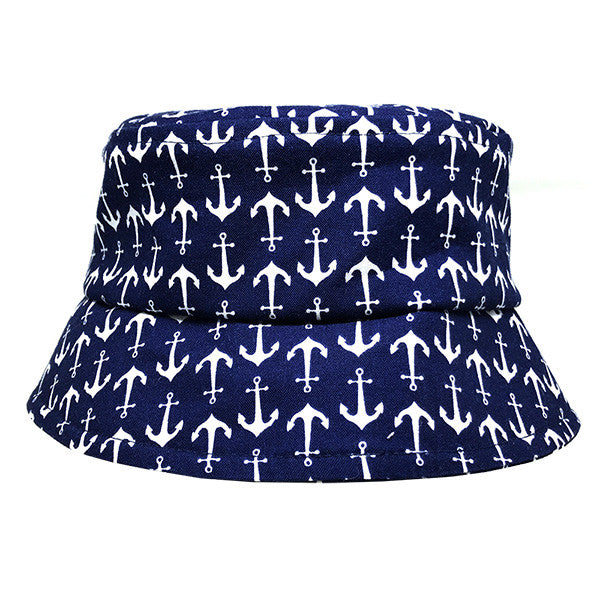Anchors Away Navy Hat - Small Potatoes - 1