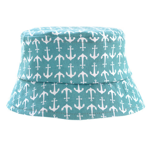 Anchors Away Teal Hat