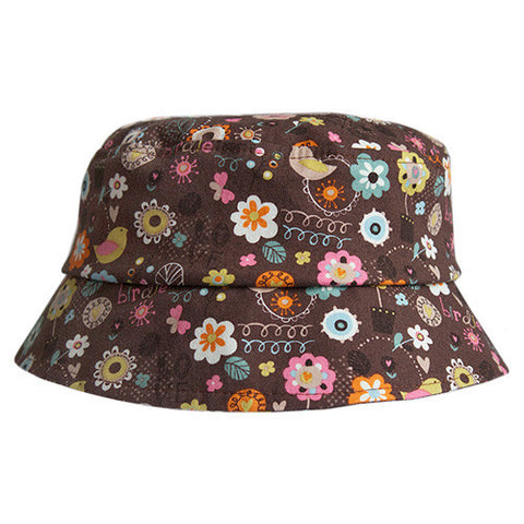 Blooming Lovely Chocolate Hat