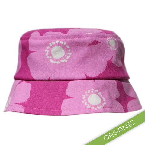Cherry Blooms Hat - ORGANIC - Ready to Ship