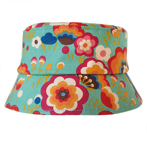 Flying Colours Teal Hat - Small Potatoes