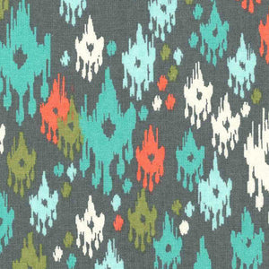 Ikat Garden Lap Blankie - Small Potatoes - 1
