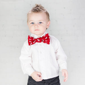 Nordic Arrows Black Bow Tie