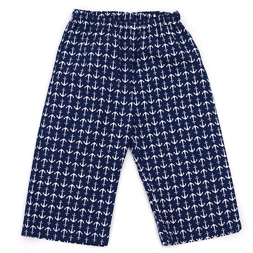 Anchors Away Navy Pants - Small Potatoes - 1