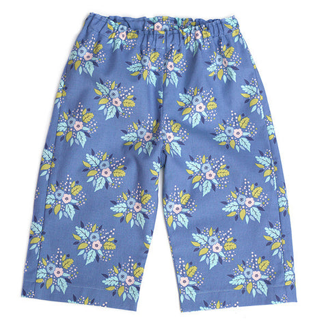 Antler Bouquet Blue Pants
