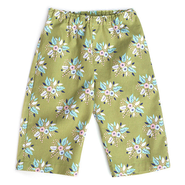 Antler Bouquet Green Pants