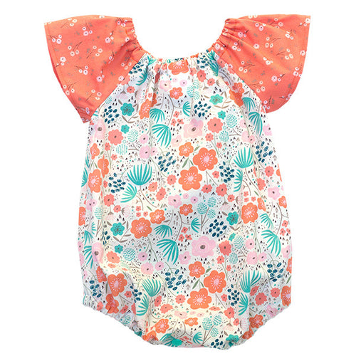 Ava Rose Bubble Romper