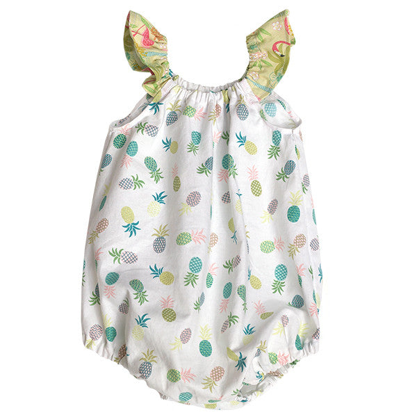 Pineapple Delight Bubble Romper