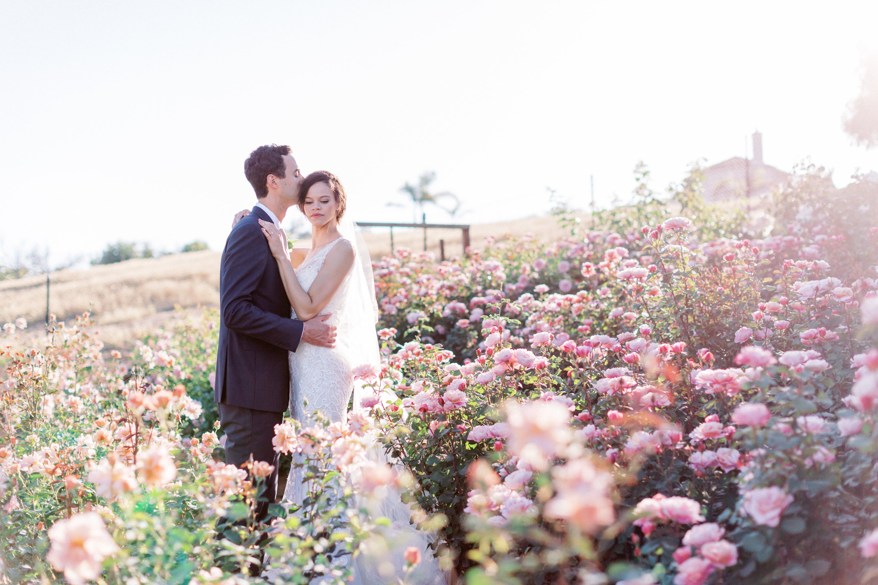 "Imagine an elegant, intimate, high-style ceremony at a simple, inclusive, affordable rate. Imagine being surrounded by rows of blooming, fragrant roses, sweeping hillside views, and a touch of an ocean breeze as you say, ""I do.""  At Ella Rose Farm you'll feel welcomed by the warmth of our family and staff and embraced by the natural beauty of the pastoral landscape."