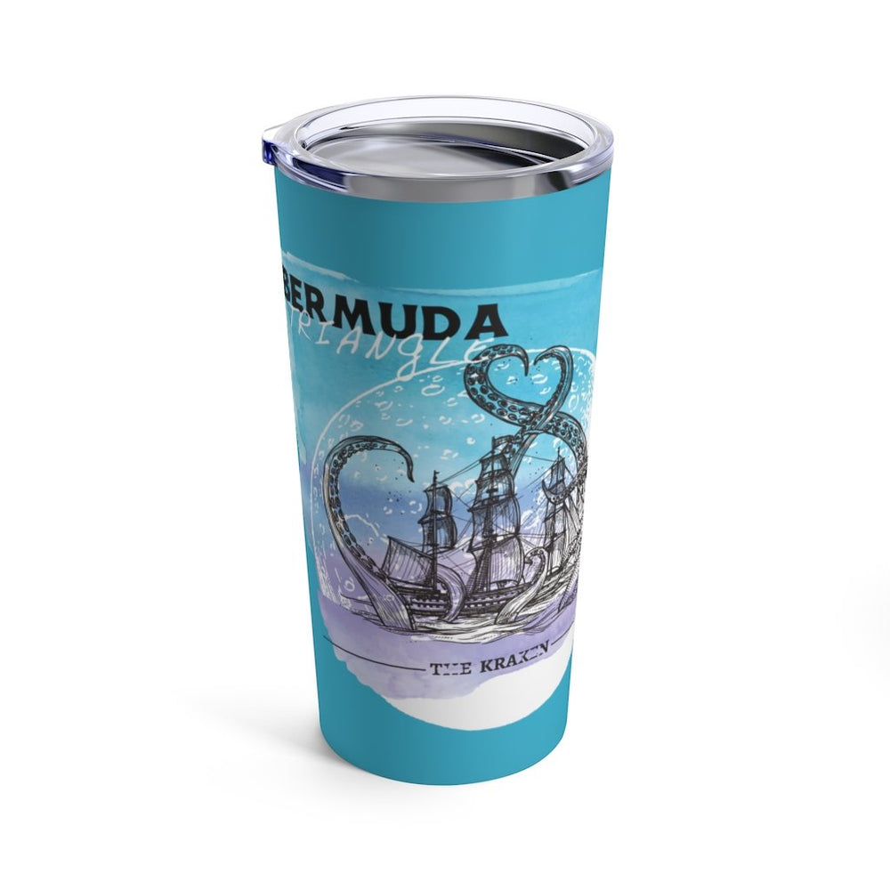 Printify Mug 20oz Bermuda Triangle - Kraken Attacks - Tumbler 20oz