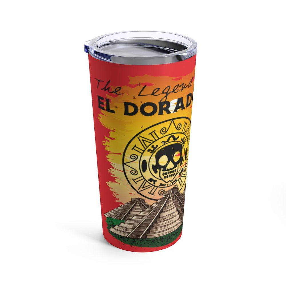 Printify Mug 20oz El Dorado - Temple of Doom - Tumbler 20oz
