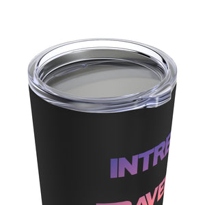 Printify Mug 20oz Intrepid Traveler Coffee - Red Sky - Tumbler 20oz