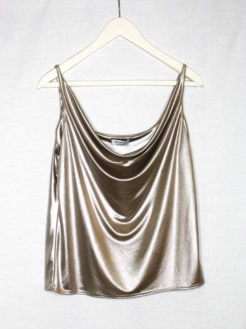 Bailey/ 44 Rose Gold Spaghetti Tank/ Size L
