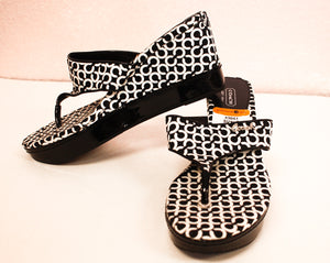 Coach Wedges/ Size 8