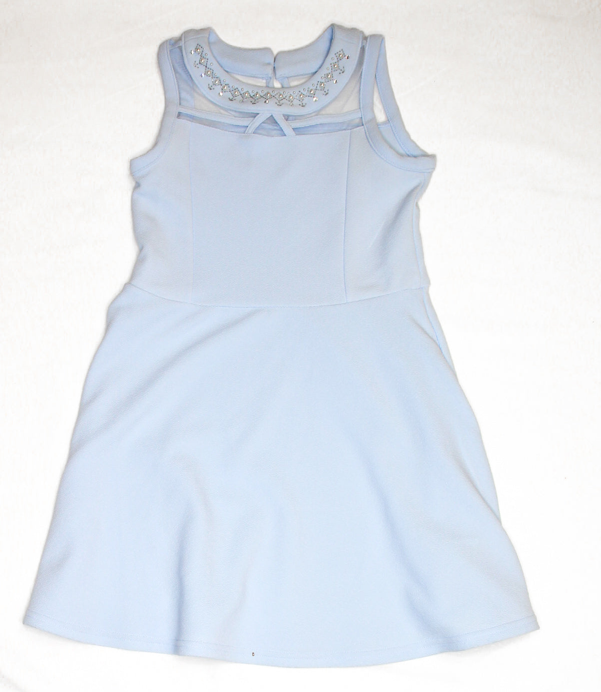 Blue Halter Dress/ Various Sizes
