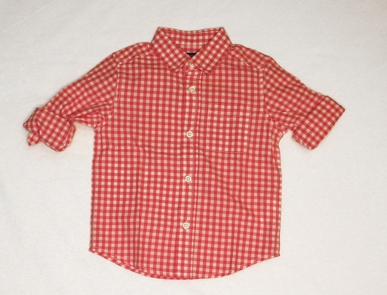 Checkered Long Sleeve/ Various Sizes