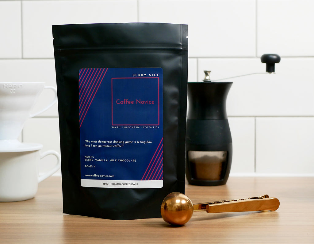 Coffee Novice speciality coffee blend berry nice