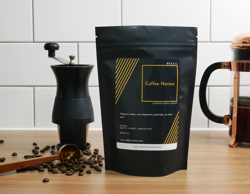 Coffee Novice speciality coffee single origin Brazil