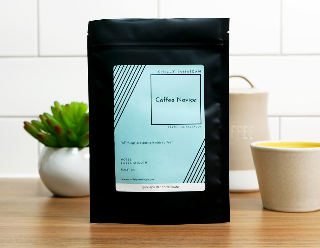 Coffee Novice speciality coffee blend chilly Jamaican