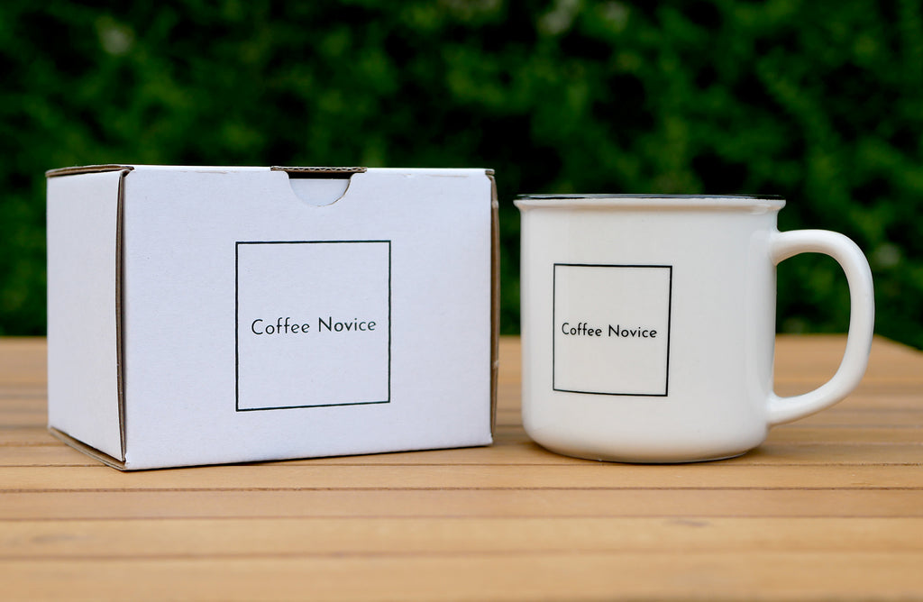 Coffee Novice coffee accessories cup and box