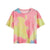 Lovely Lounge Tie Die Strawberry Butter Cream Tee