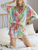Lovely Lounge Sets Tie Dye Relax Long Sleeves + Shorts