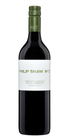 Philip Shaw 2016 No 17 Merlot Cabernet Franc - Orange NSW