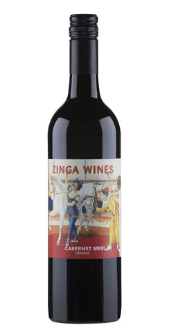 Zinga 2015 Cabernet Merlot - Orange NSW