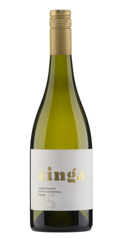 Zinga 2015 Single Vineyard Reserve Chardonnay