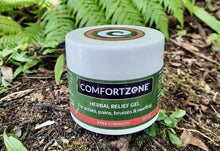 Load image into Gallery viewer, COMFORTZONE Herbal Pain Relief for aches & pains XTRA STRENGTH GEL - Pot 100ml