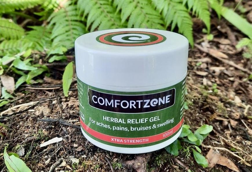 COMFORTZONE Herbal Pain Relief for aches & pains XTRA STRENGTH GEL - Pot 100ml