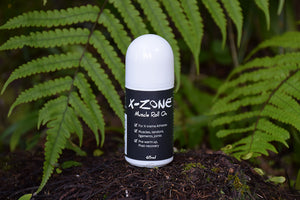 X-ZONE Xtreme Muscle Rub FOR CYCLISTS & ATHLETES - Roll On