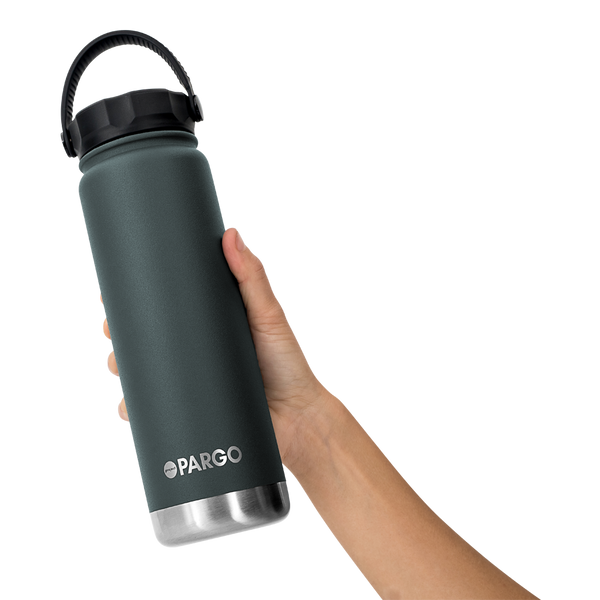 Pargo Insulated Water Bottle - BBQ Charcoal 750mL