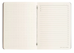 MiGoals Get Shit Done Notebook A6 - Grid