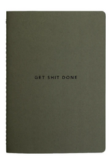 MiGoals Get Shit Done Notebook A5